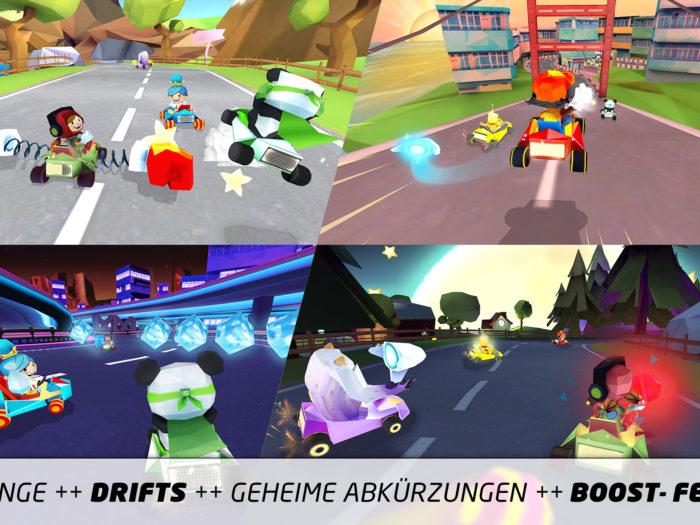 News: King of Karts – Die Rennspiel-App ist jetzt verfügbar | Apps für Kinder image 2
