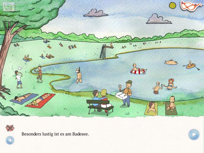 Die Brille - Handgezeichnete Kinderbuch-App | Apps für Kinder image 4