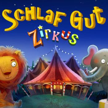 Test: Schlaf gut Zirkus - Die interaktive Gute-Nacht-App | Apps für Kinder image 1