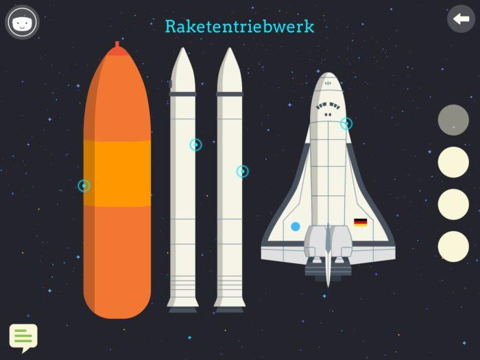 Test: Das ist mein Raumschiff - Kompaktes Weltallwissen | Apps für Kinder image 1