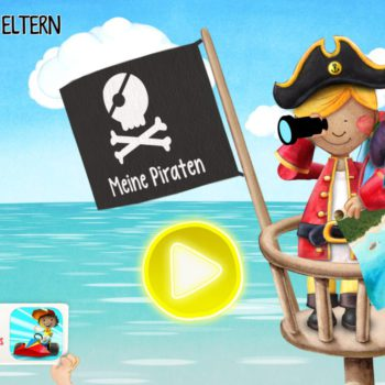 Meine Piraten wonderkind Apps fuer Kinder Start