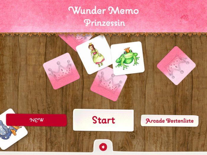 Prinzessin Memo Start
