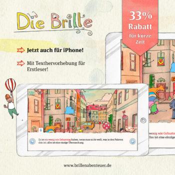 News: Die Brille 33% Rabatt zum iPhone Release | Apps für Kinder