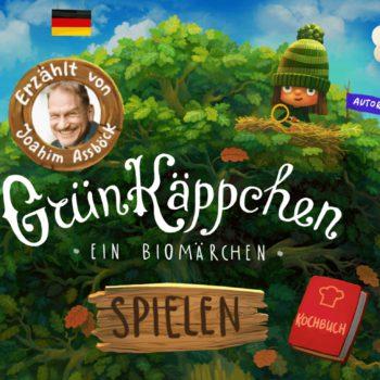 Gruenkaeppchen start kinder app